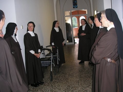 Schwestern ders Regionaltreffens in Aachen