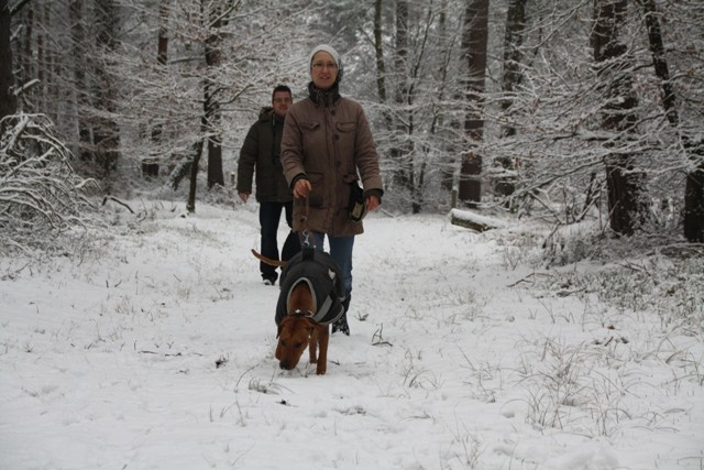 Verena und Jörg mit Diara