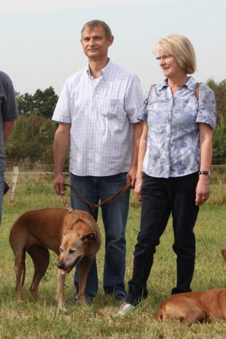 Ralf und Petra mit Ayana
