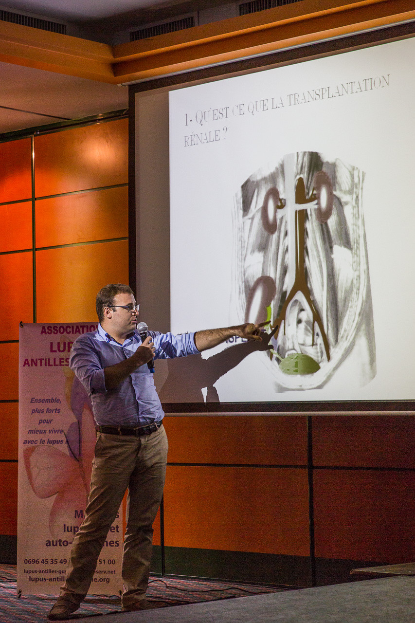 Le Dr CHARLES-CHARTOU, néphrologue, fait le point sur les atteintes rénales du lupus, la transplantation et les traitements