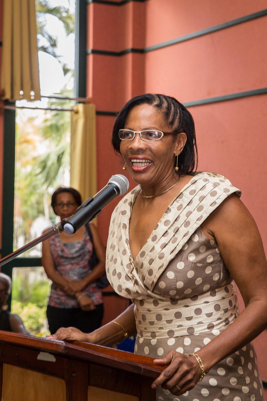 Mme Marie-Frantz PINAUT, conseillère générale chargée des affaires sociales et du handicap, nous porte son soutien