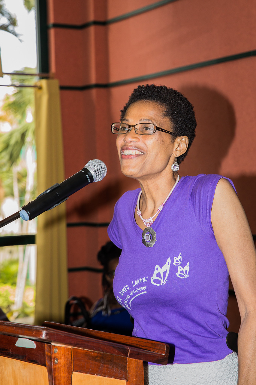 Ouverture de la manifestation par Mme NORCA, présidente de l'ALAG