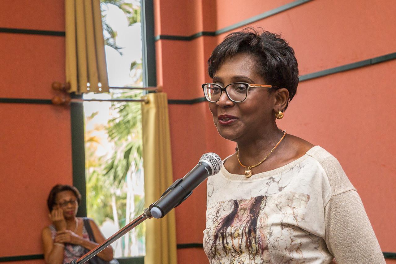 L'association Lupus Guadeloupe est représentée par sa présidente Mme Nicole TRIPOLI