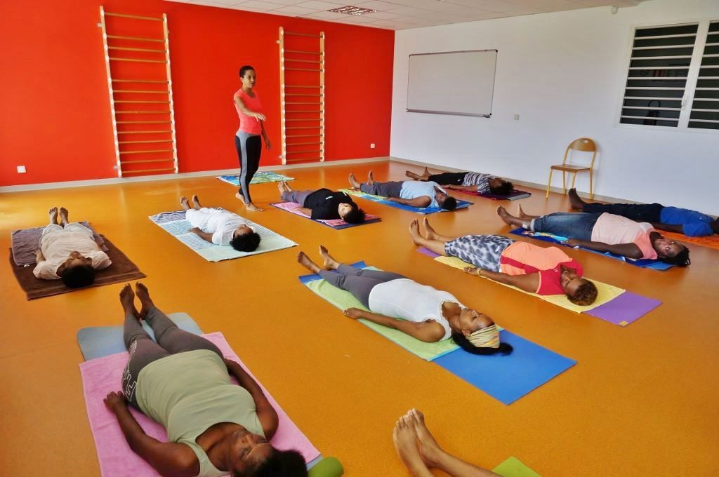 Au programme : exercices de relaxation