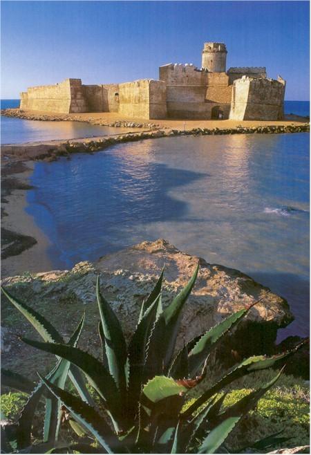 Le Castella, sul litorale jonico