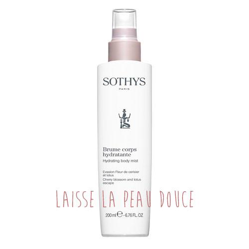 spray hydratant pour le visage