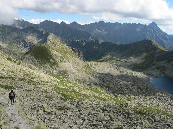 la vallée des 5 lacs en pologne carpates