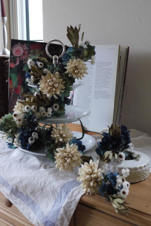 お花でアフタンーンティー