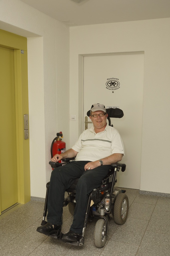 Rollstuhlgängige Praxis