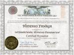 米国IHF(国際催眠連盟)認定         ヒプノティスト(催眠士)