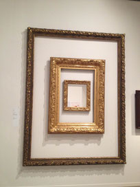 Frames as artwork