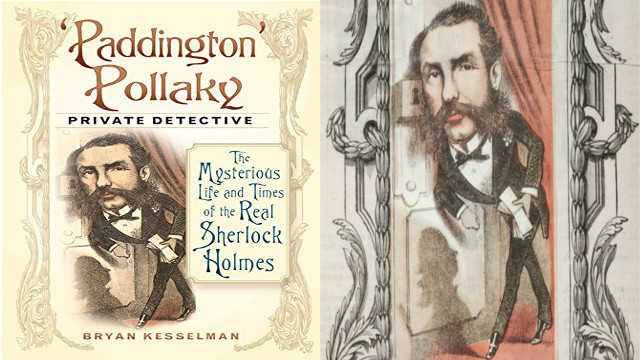 "Buchcover ""The Mysterious Life and Times of the Real Sherlock Holmes""; Detektiv Hannover, Privatdetektiv Hannover, Kurtz Detektei Hannover"