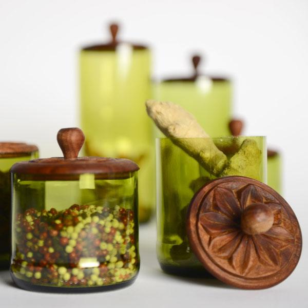 Upcycling: Aufbewahrungsglas für die Küche