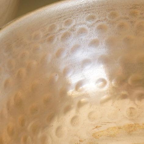 Feine Messing-Arbeit - Schalen und Teller