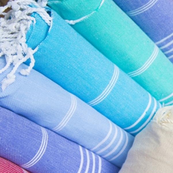 Perfekte für Bad & Urlaub - Foutas & Hamam-Tücher in vielen Farben