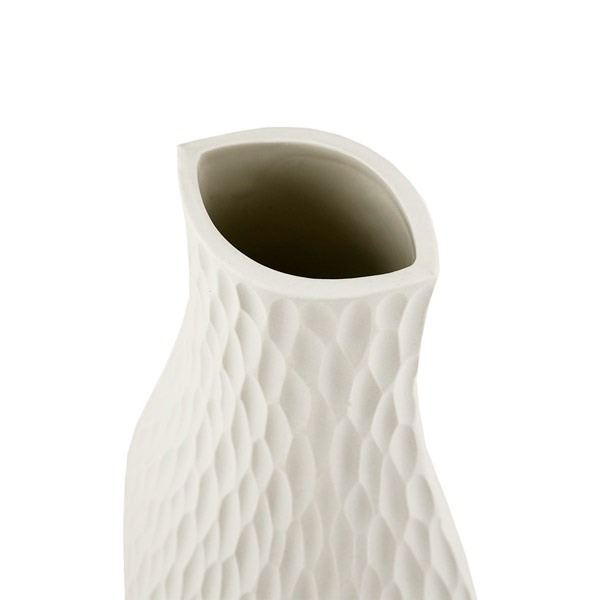 Purismus par excellence - Vasen mit raffinierter Oberflächenstruktur