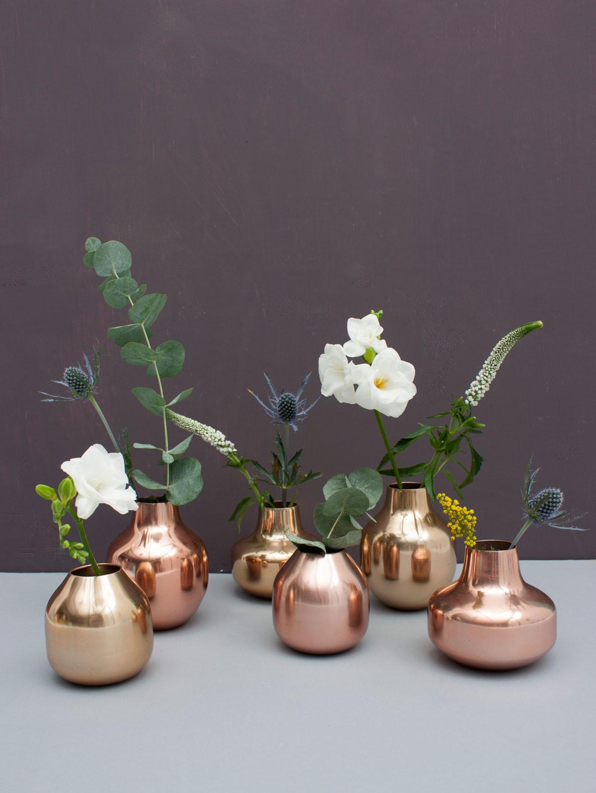Trend Kupfer -  lässt jede Pflanze erstrahlen