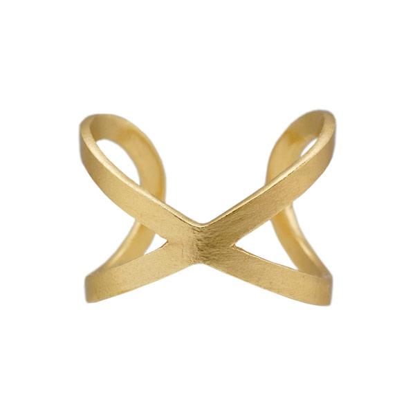 Gold-Ringe - Infinity grafisch in Szene gesetzt