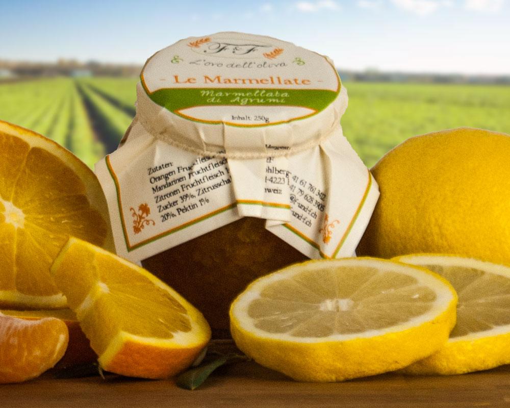 Orangen-/Zitronen-Konfitüre