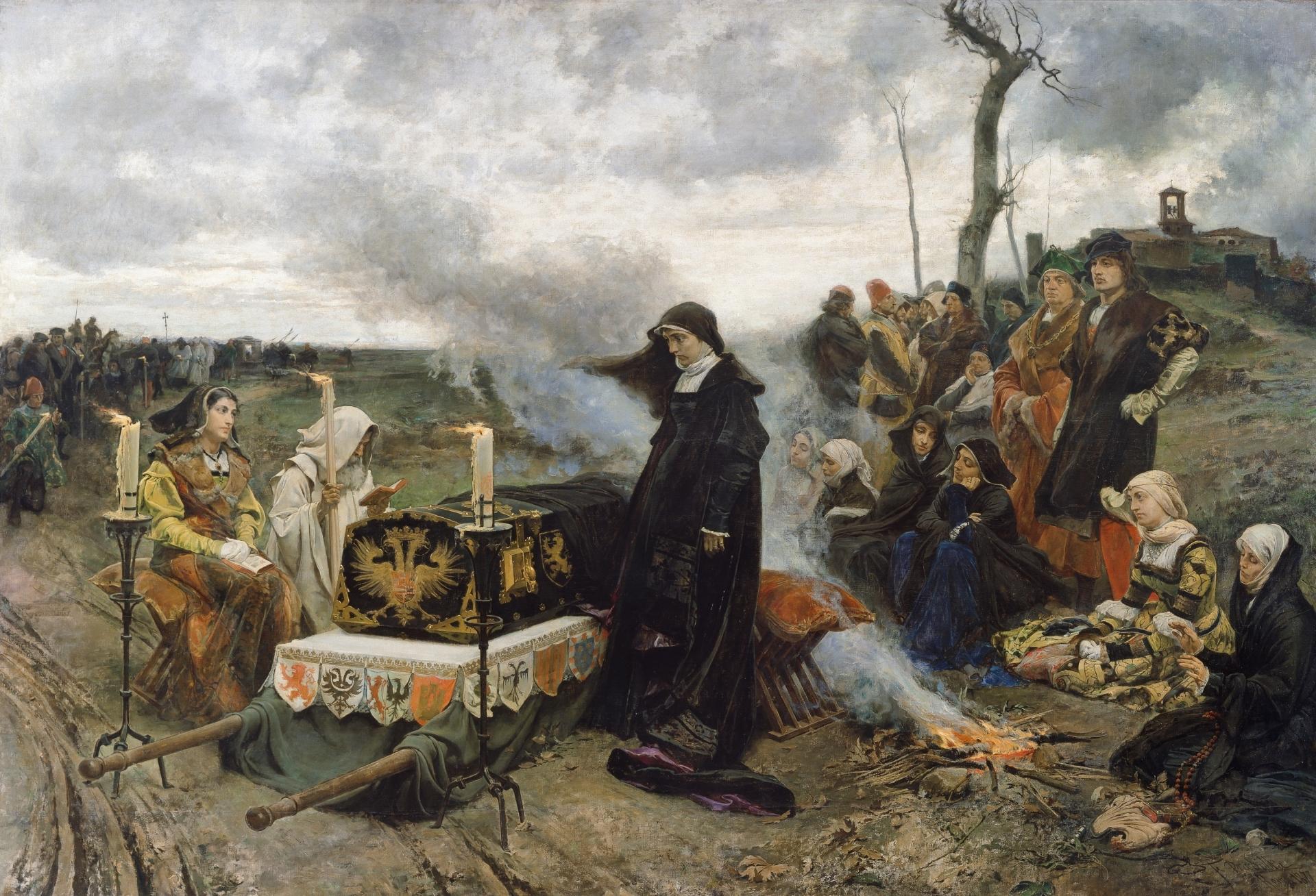 Pintura de Historia