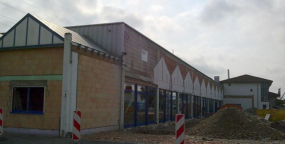 Gebäudesanierung in Offenburg, Gewerbebau