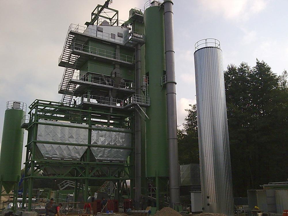 Neubau Asphaltwerk in Waltersweier