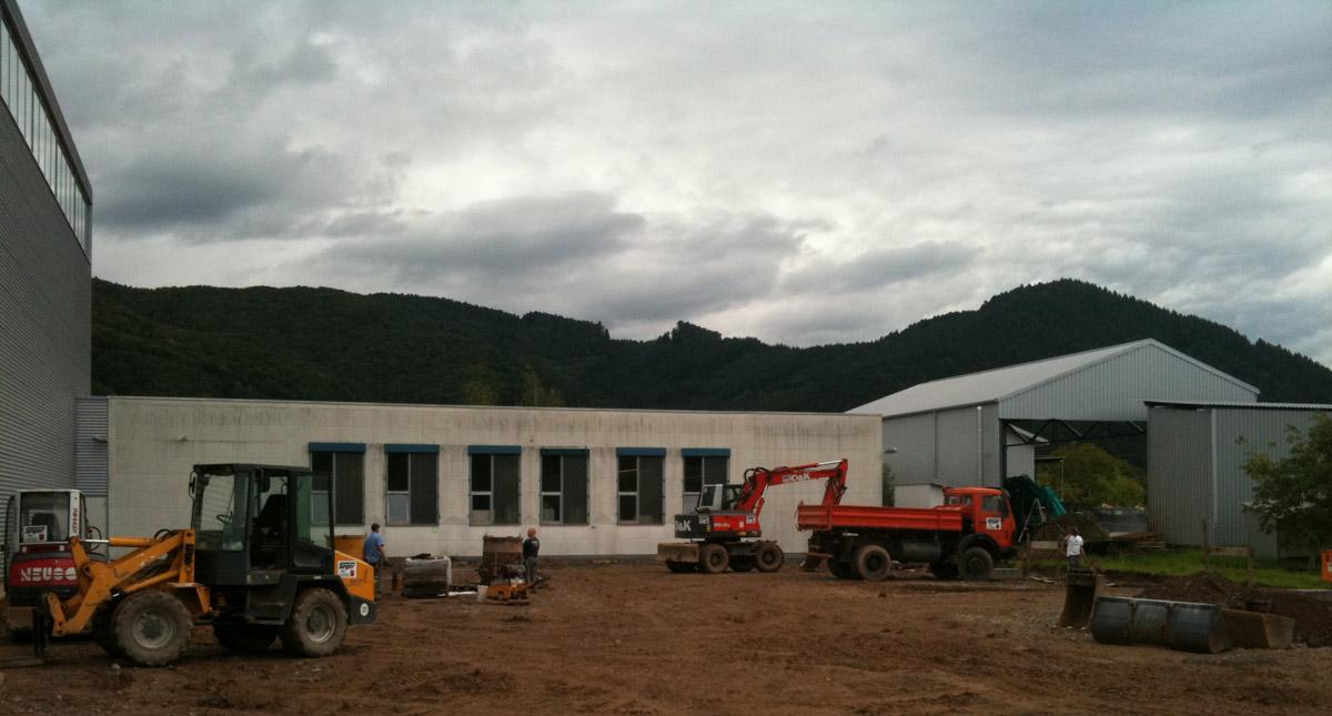 Neubau Produktionshalle in Steinach