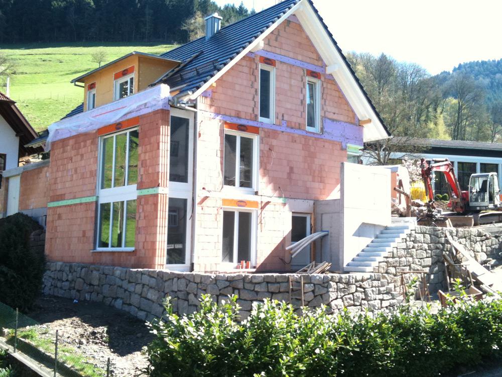 Privater Wohnungsbau, Gebäude und Außenanlagen