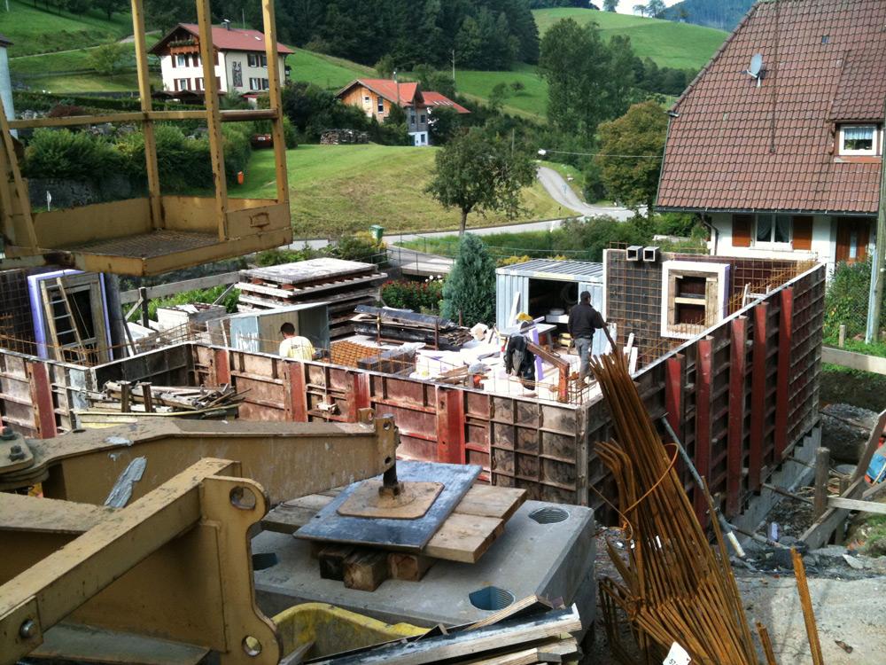 Privater Wohnungsbau in Hausach