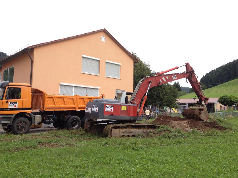 Kommunales Bauprojekt