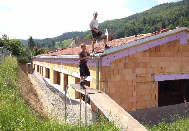 Kindergarten Mühlenbach, Erweiterung Hochbau