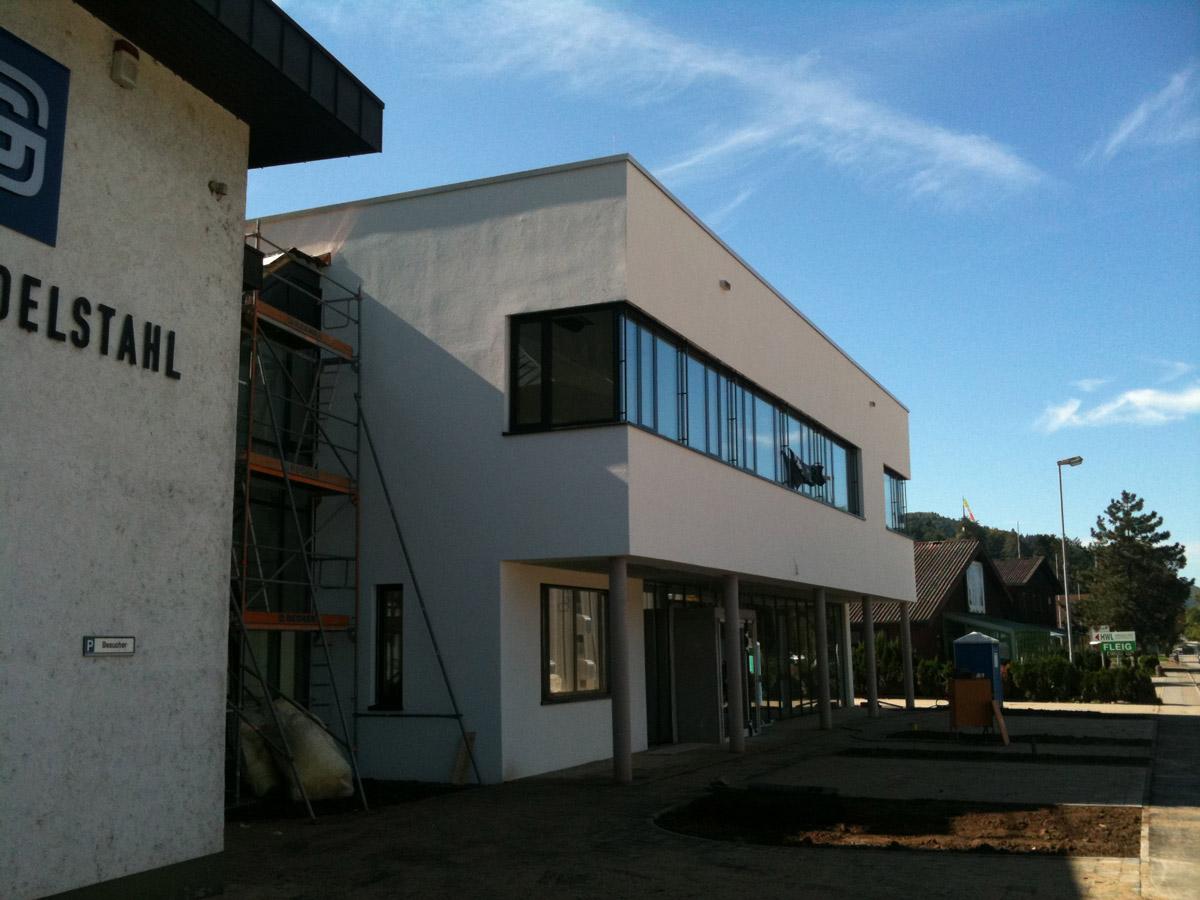 Erweiterung Verwaltungsgebäude Gewerbebetrieb in Hausach