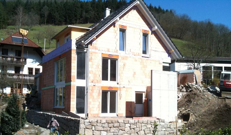 Neubau Wohnhaus mit Außenanlagen
