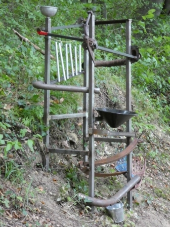 Neu- und Altmetall Kugelbahn I