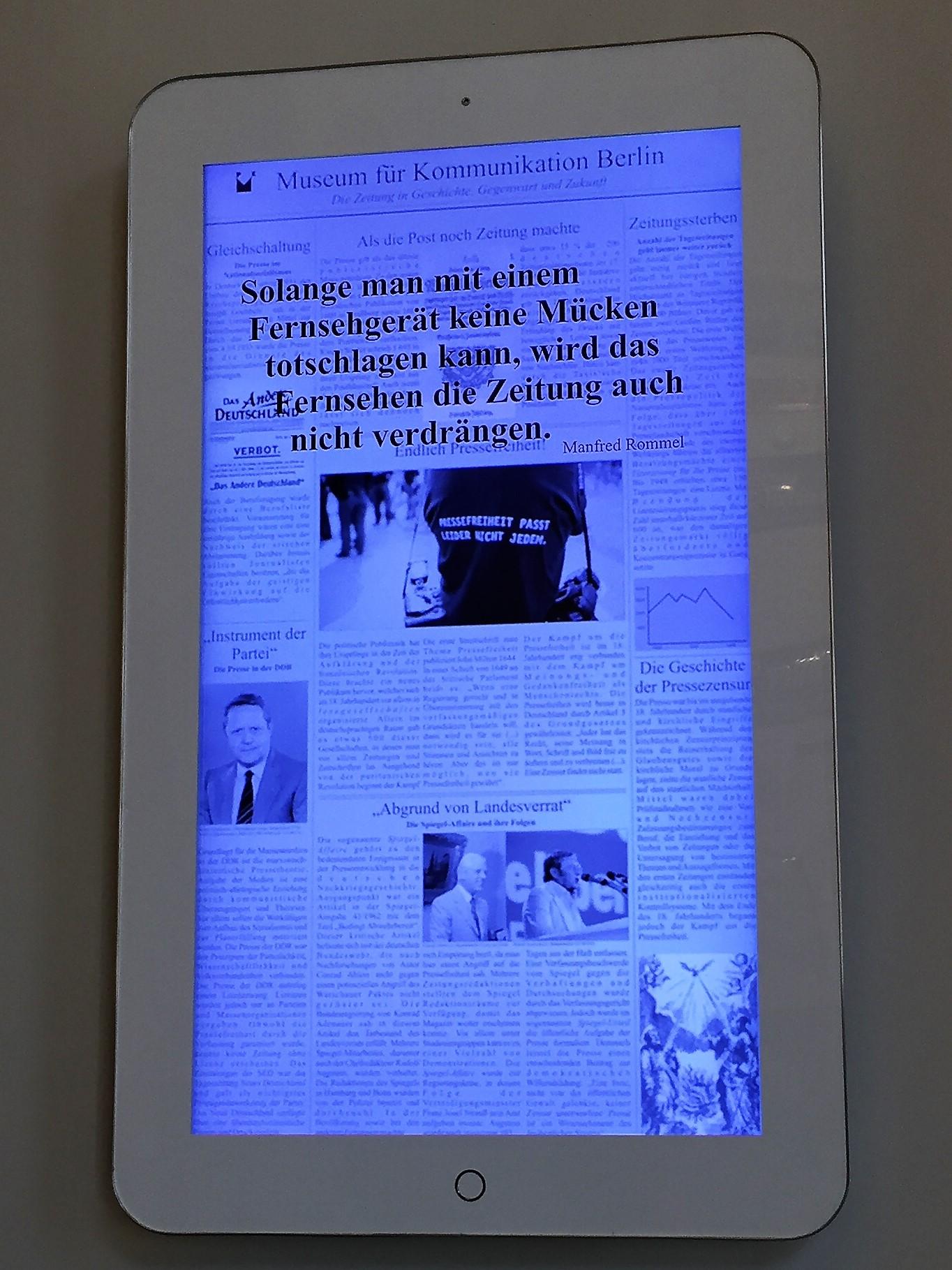 Museum für  Medien & Kommunikation