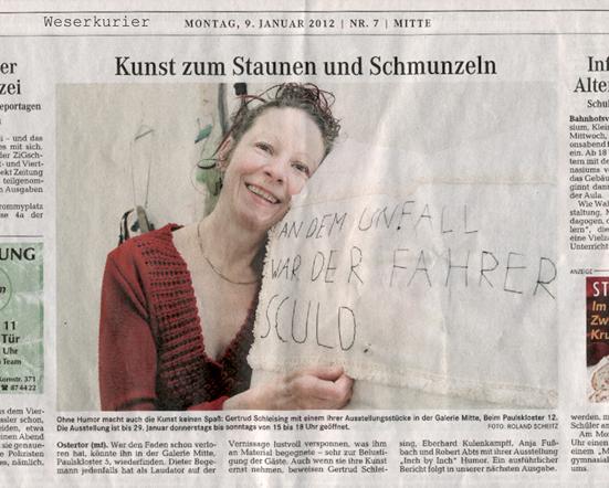 Weserkurier, 9.01.2012