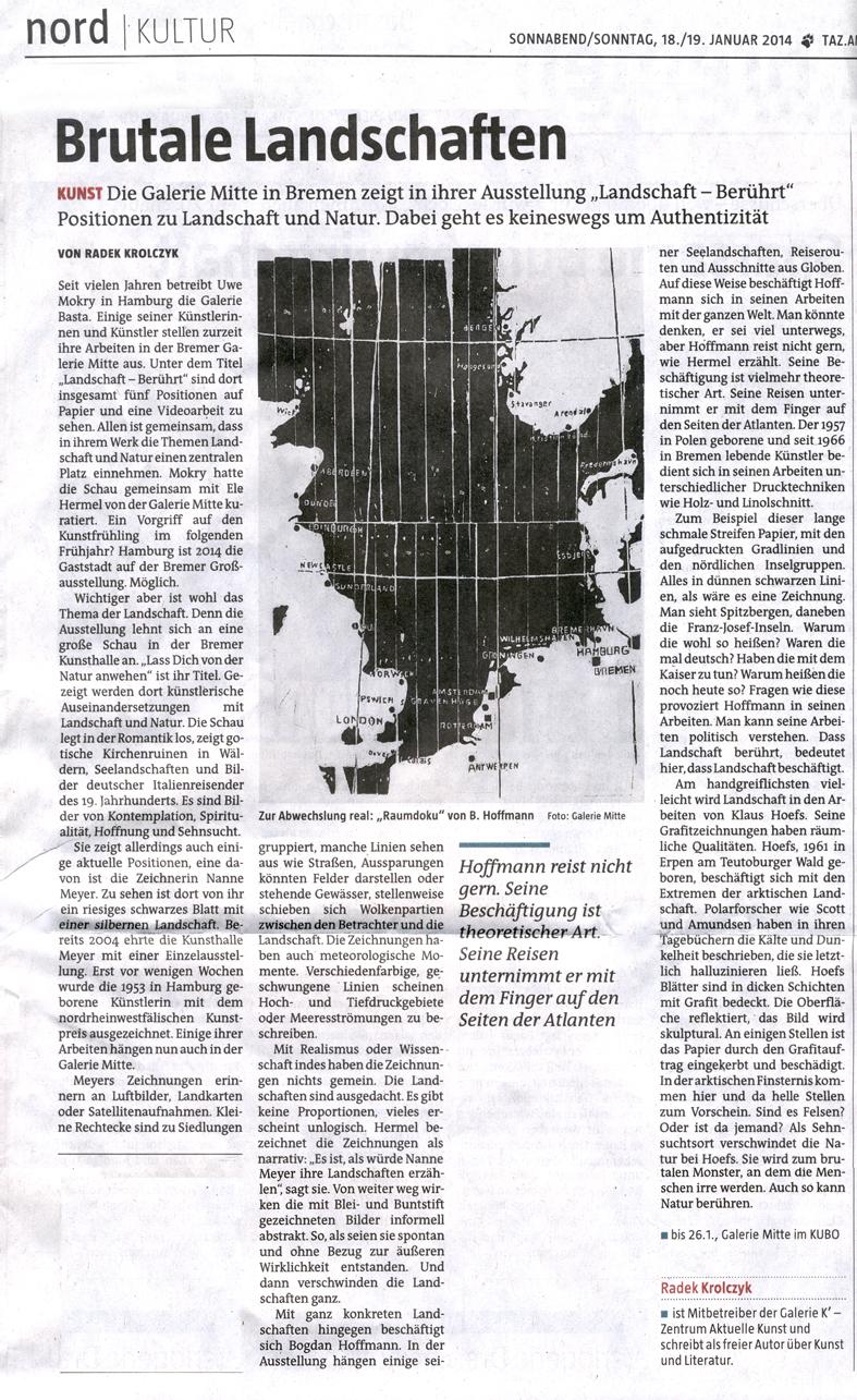Taz, Radek Krolczyk, 18./19.01.2014
