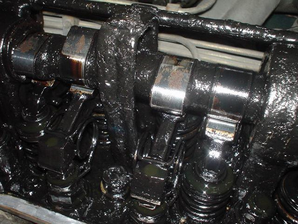 Ölschlammbildung 280 SL
