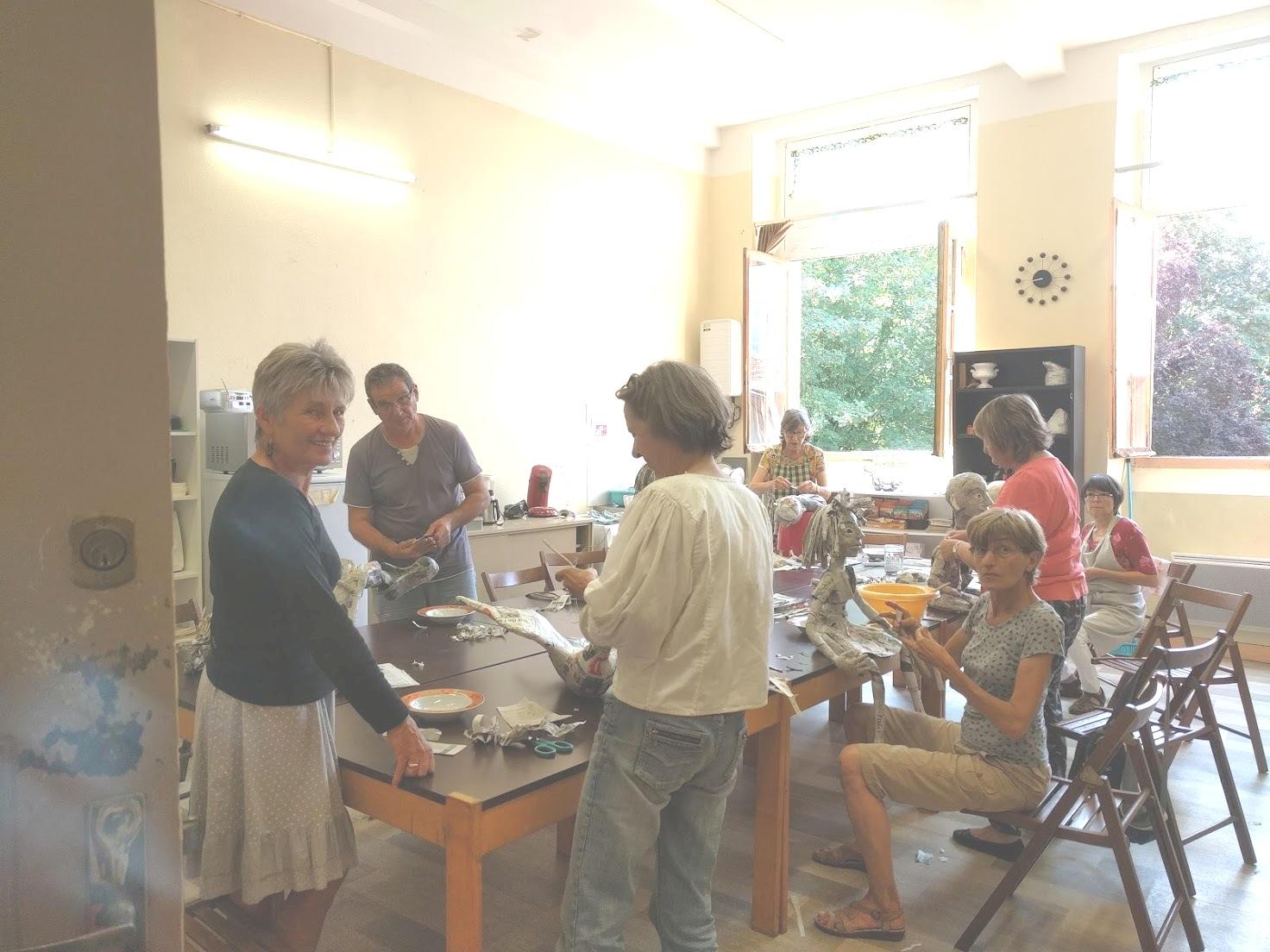 Atelier d'Arts créatifs avec Ellen Van Verkoven