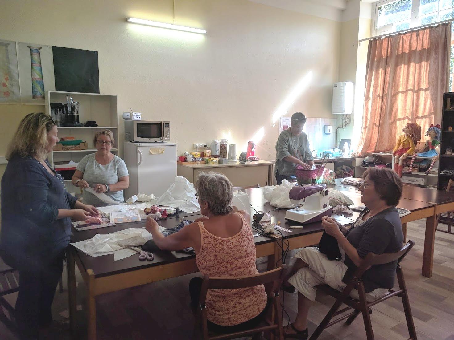 Atelier de couture avec Caroline Cottenceau