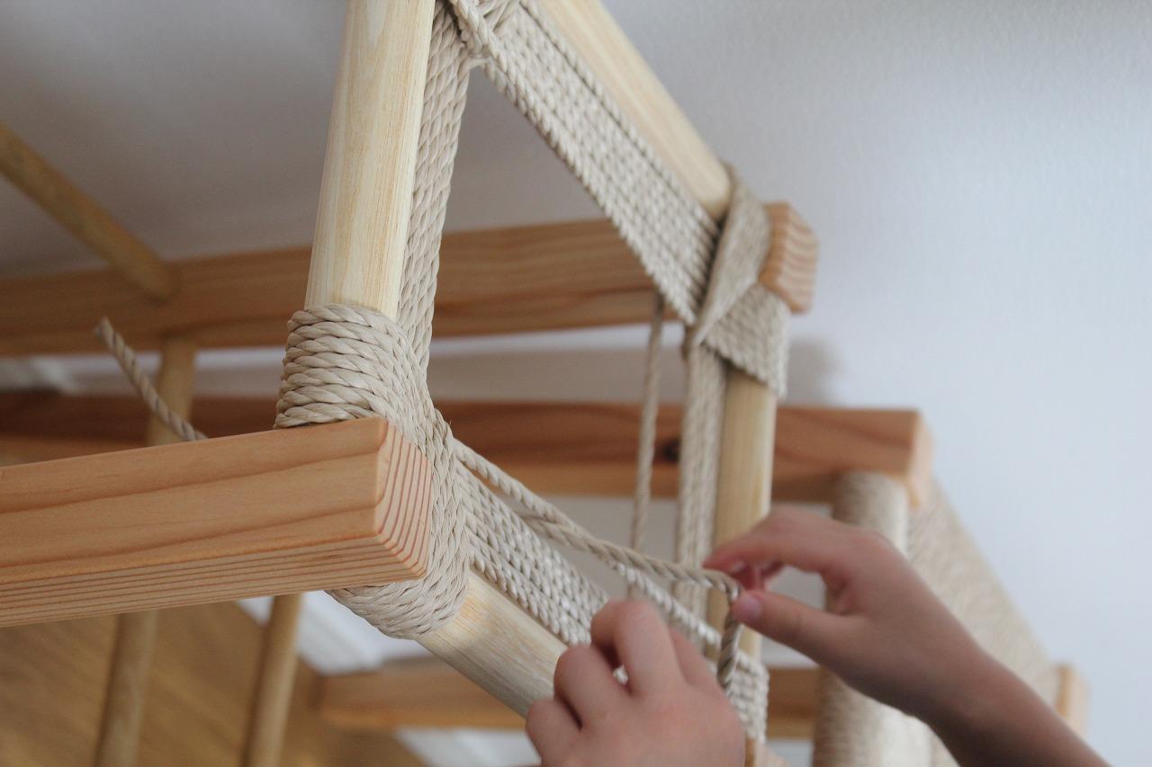 12月12日 「座編みスツール作り」木工体験ワークショップ開催