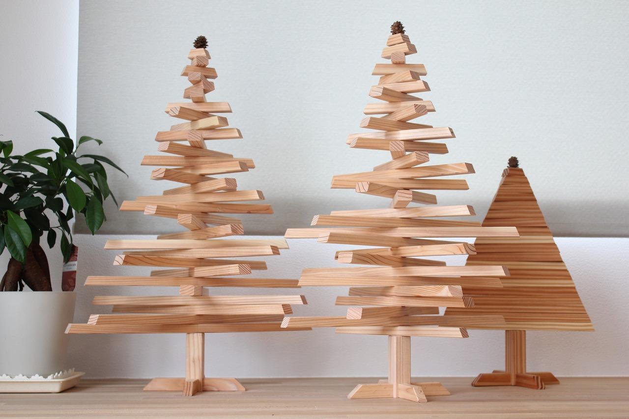 11月14日 「クリスマスツリー作り」木工体験ワークショップ開催