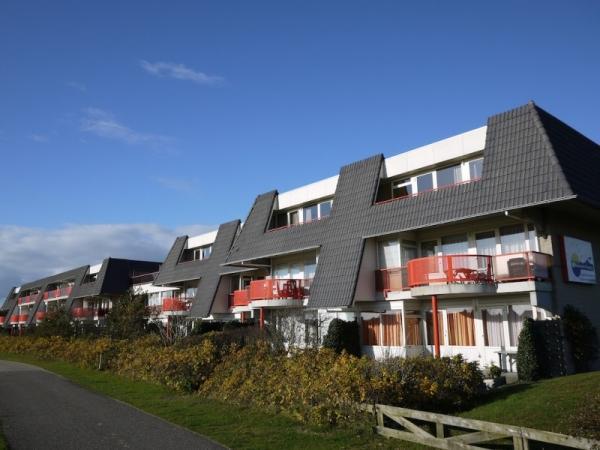 Te huur 4 persoons appartement in Buren op Ameland geschikt voor mindervaliden