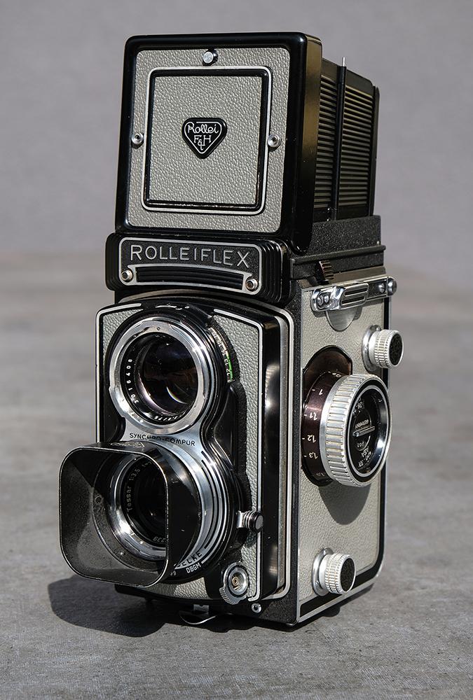 Rolleiflex T aus 1960, einer meiner Lieblinge