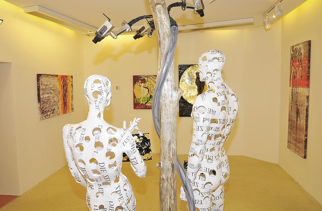 Ausstellung Frischluft in der Galerie des Steinberghauses in Altaussee