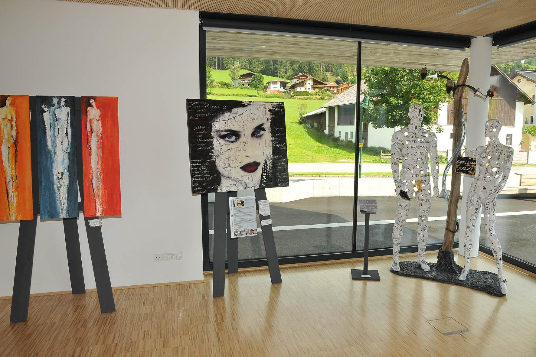 Ausstellung im neuen Gemeindehaus St.Martin/Tgb.