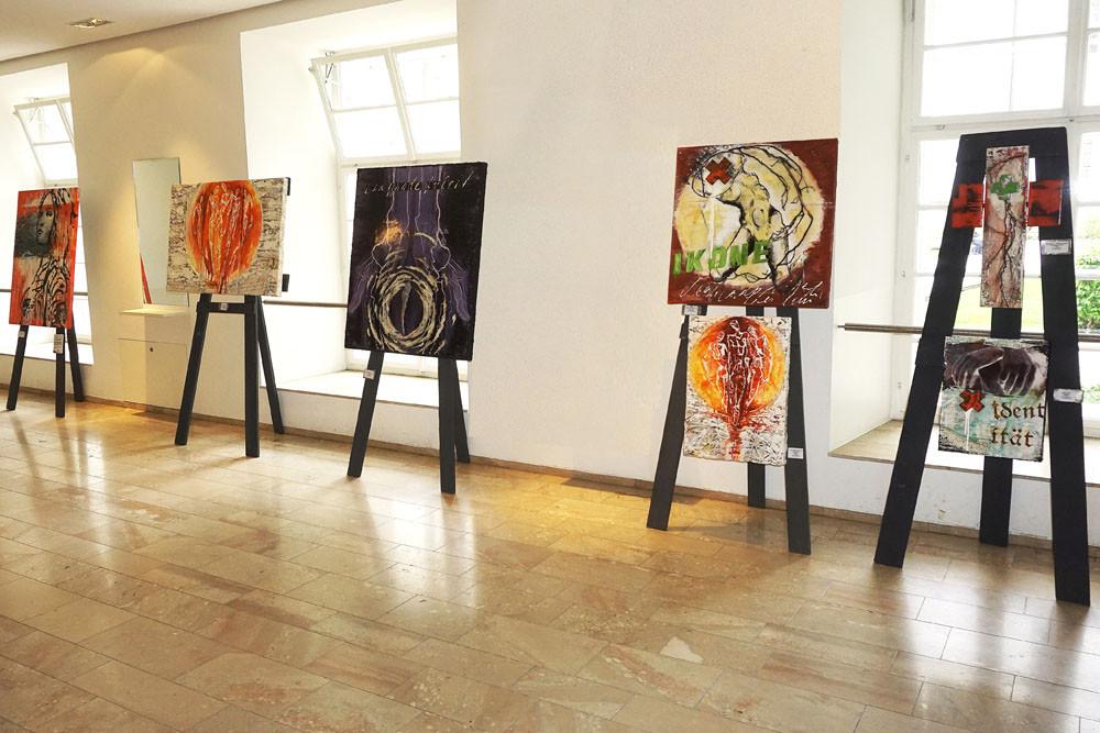 Ausstellung große Aula der Universität Salzburg