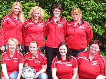 Damenmannschaft Kreispokal Sommer 2014 | fcottenzell-eisstock.de