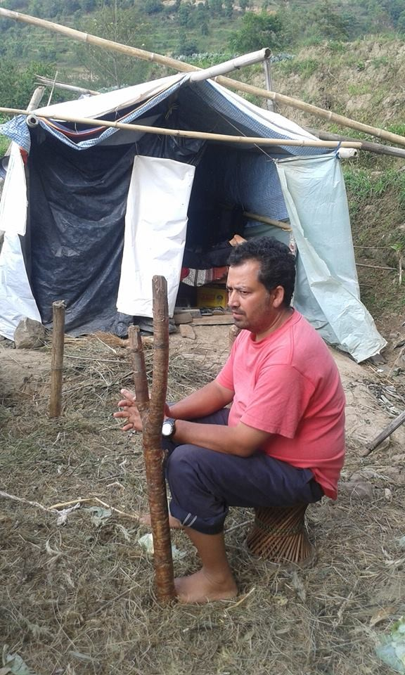 Comme des milliers d'autres, Ram a passé les 5 dernières semaines sous tente