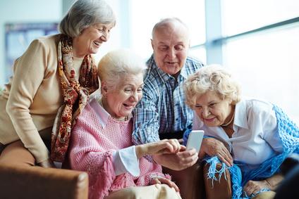 Tablet en Smartphone - Forte Fit activiteiten voor senioren